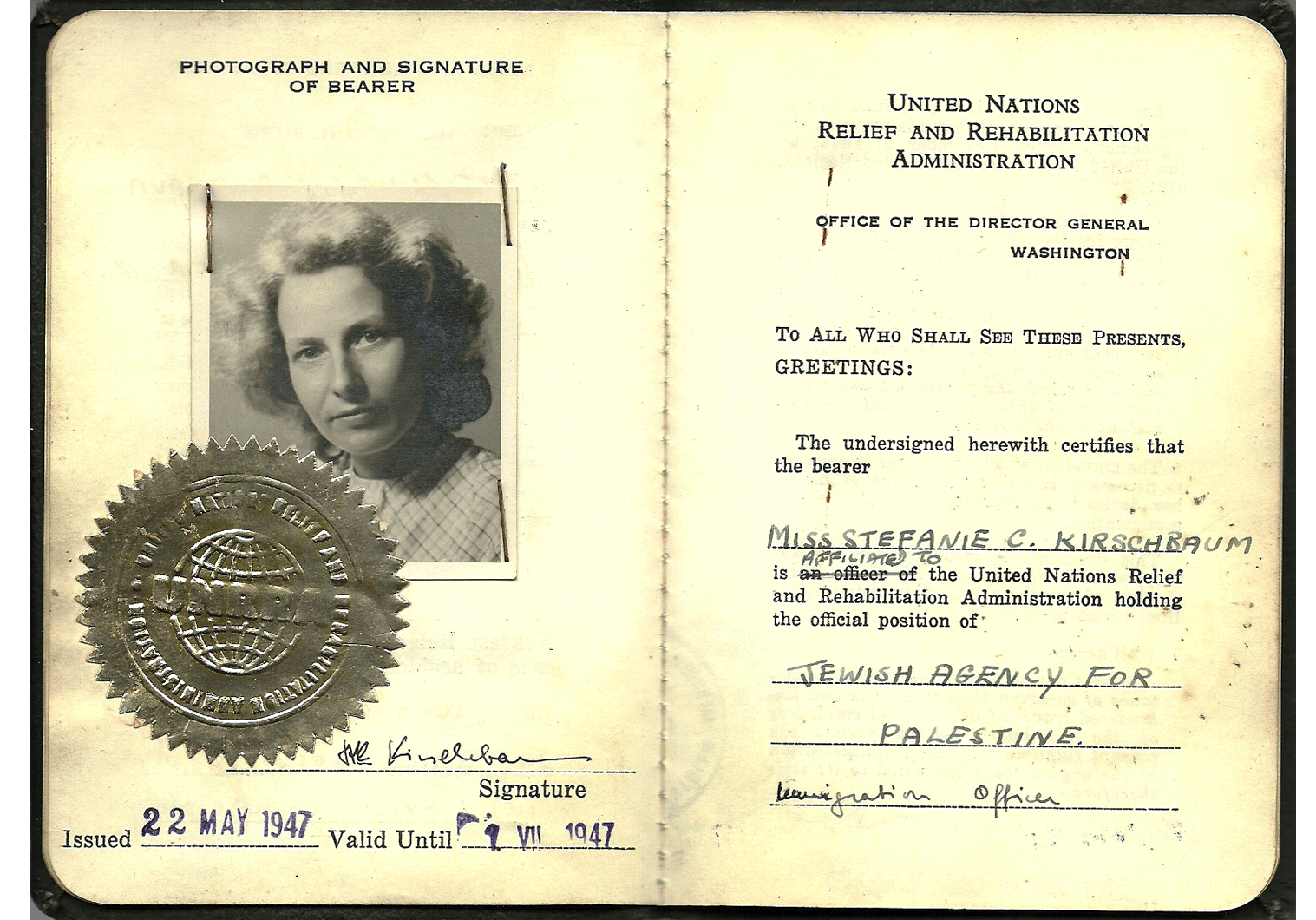 IRO ID document WW2