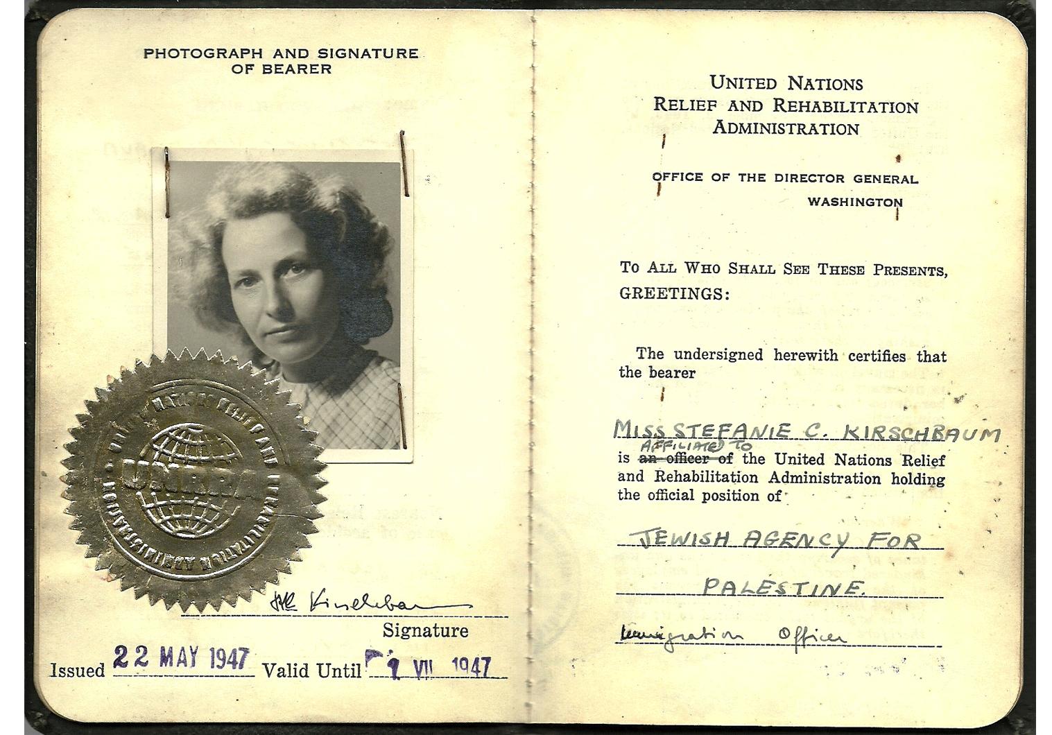 IRO ID document WW2