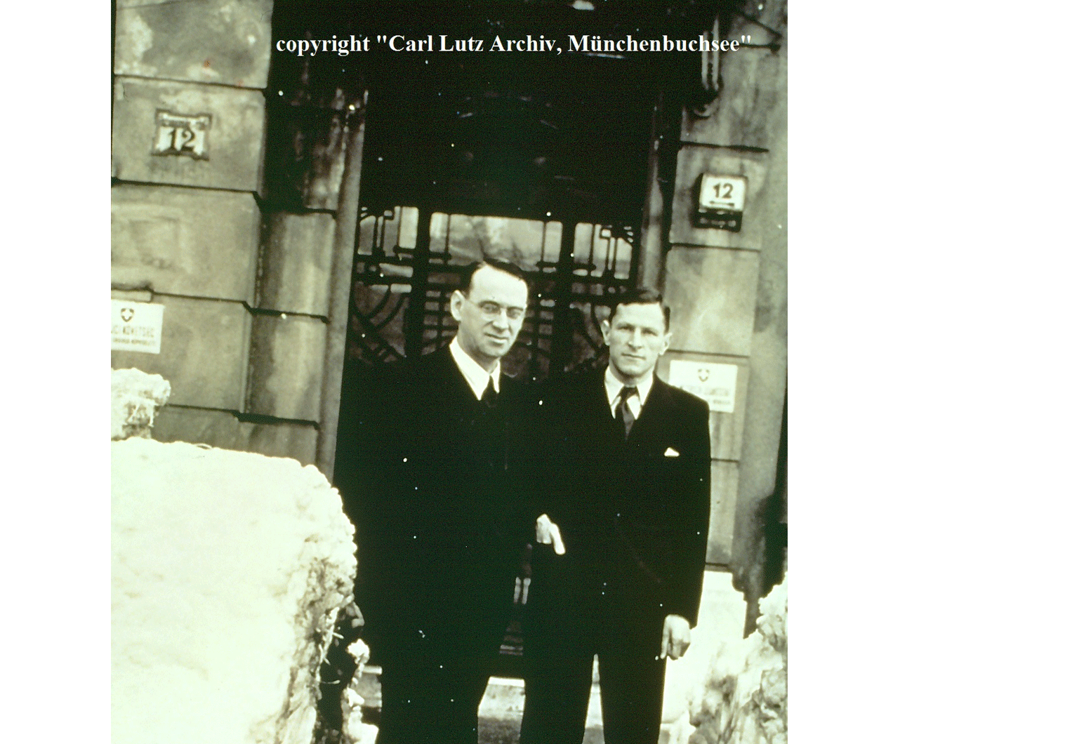 Carl Lutz & Hans Steiner