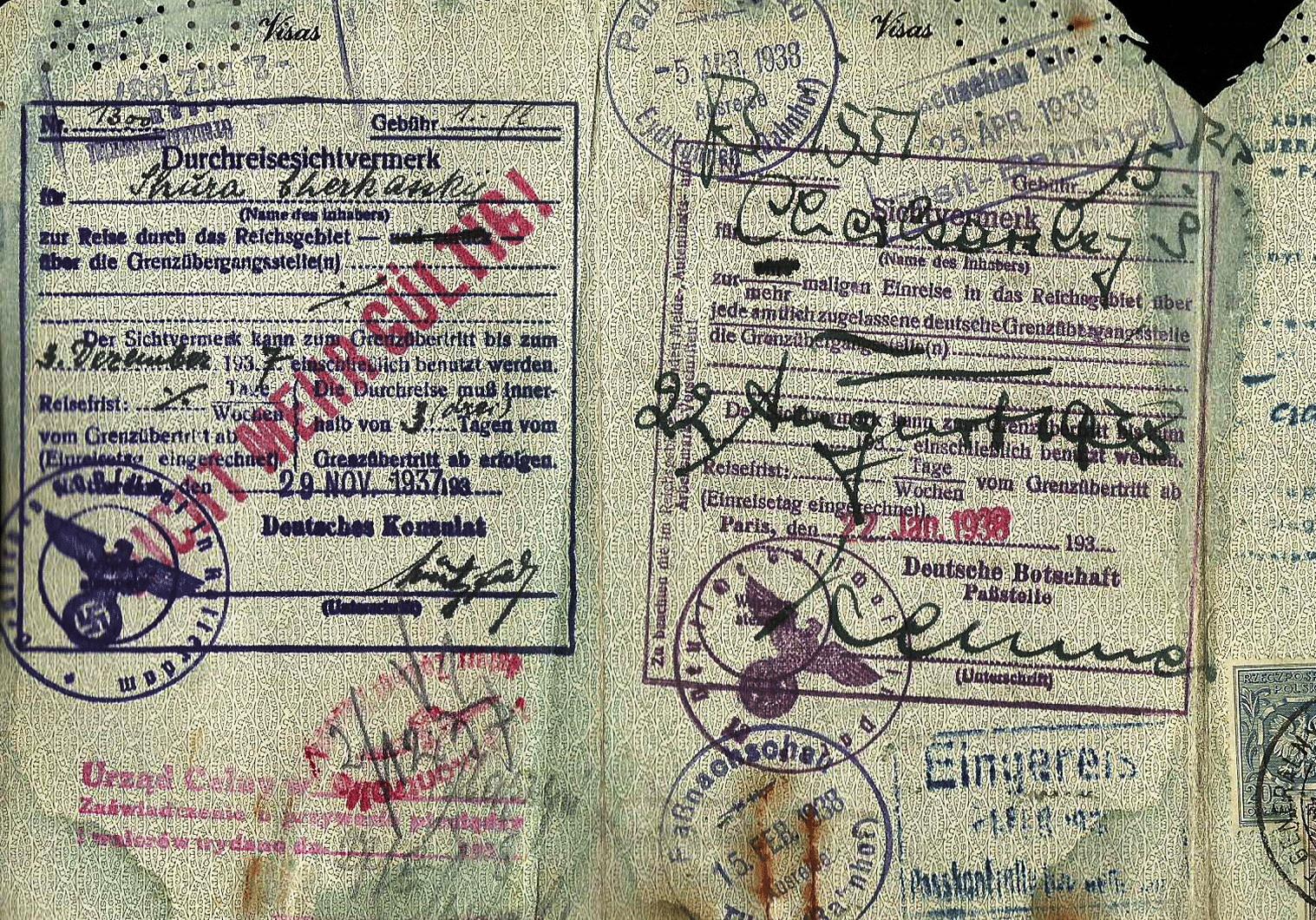Nazi visa