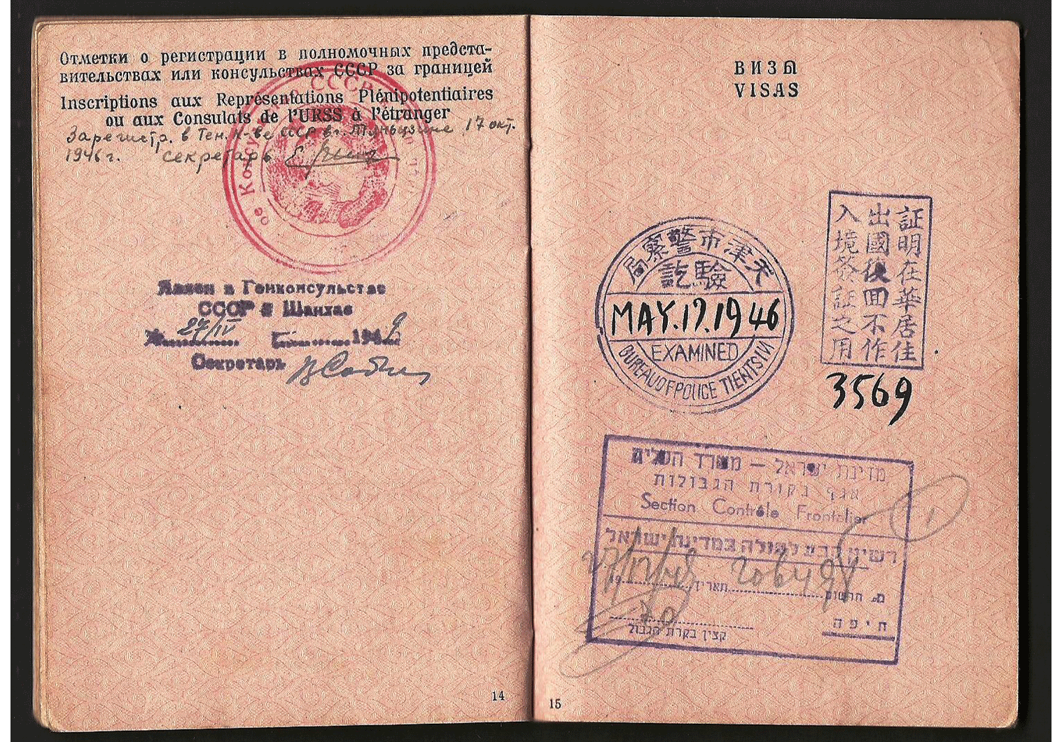 WW2 USSR passport