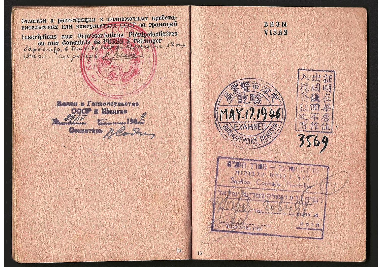 WW2 USSR passport