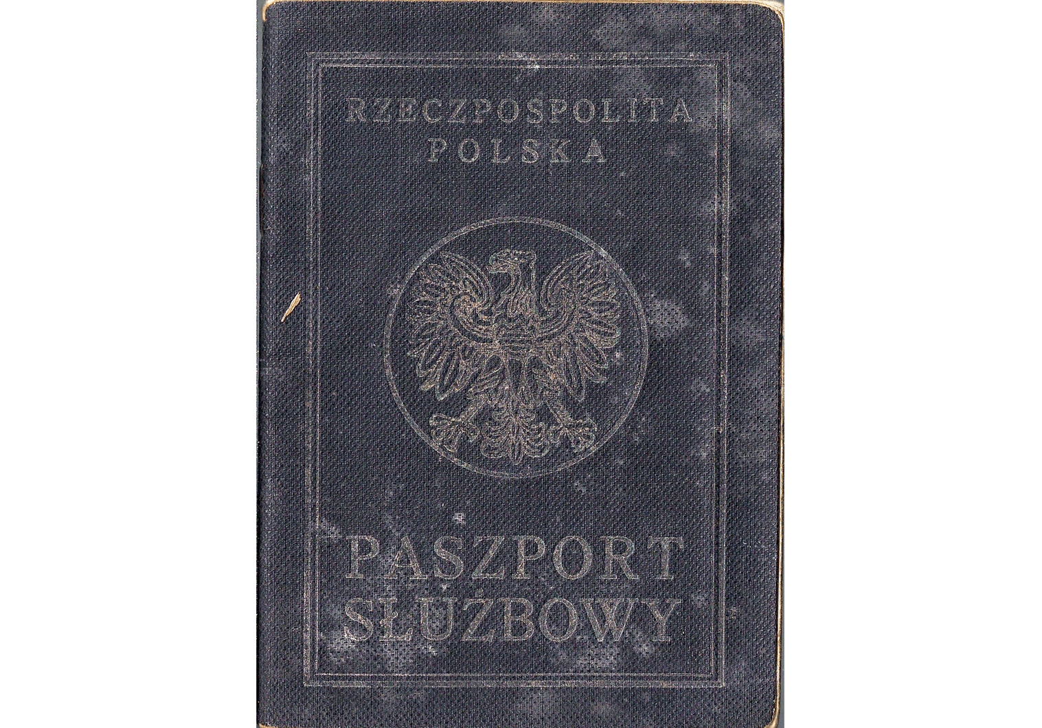1949 Polish service passport for occupied Germany
