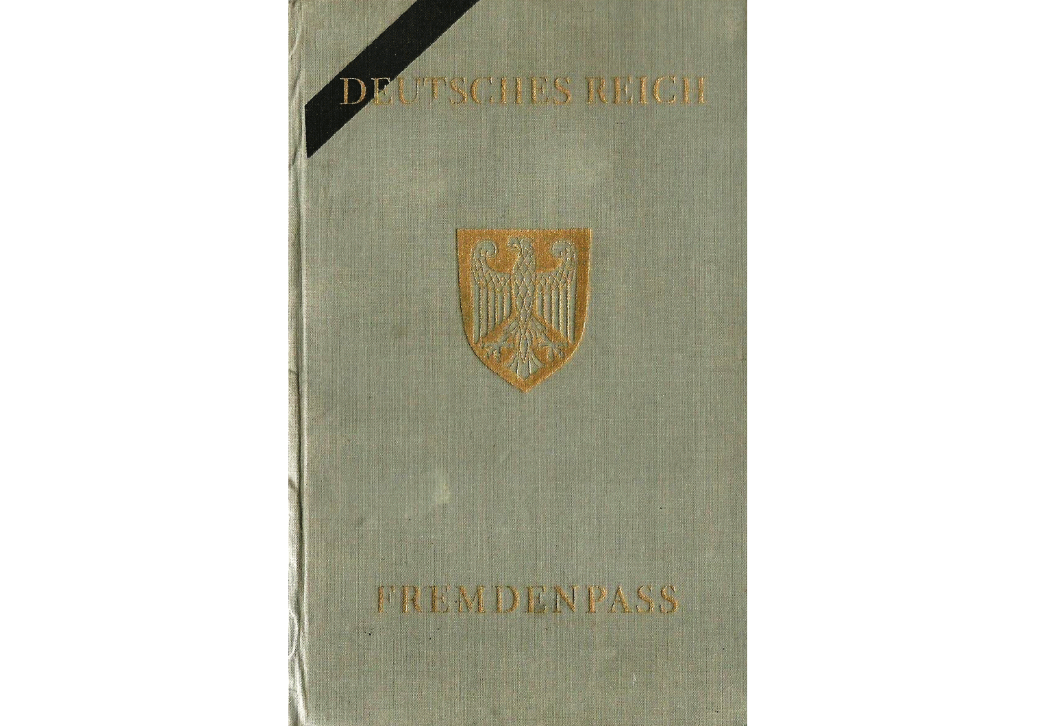 German Fremdenpass  passport