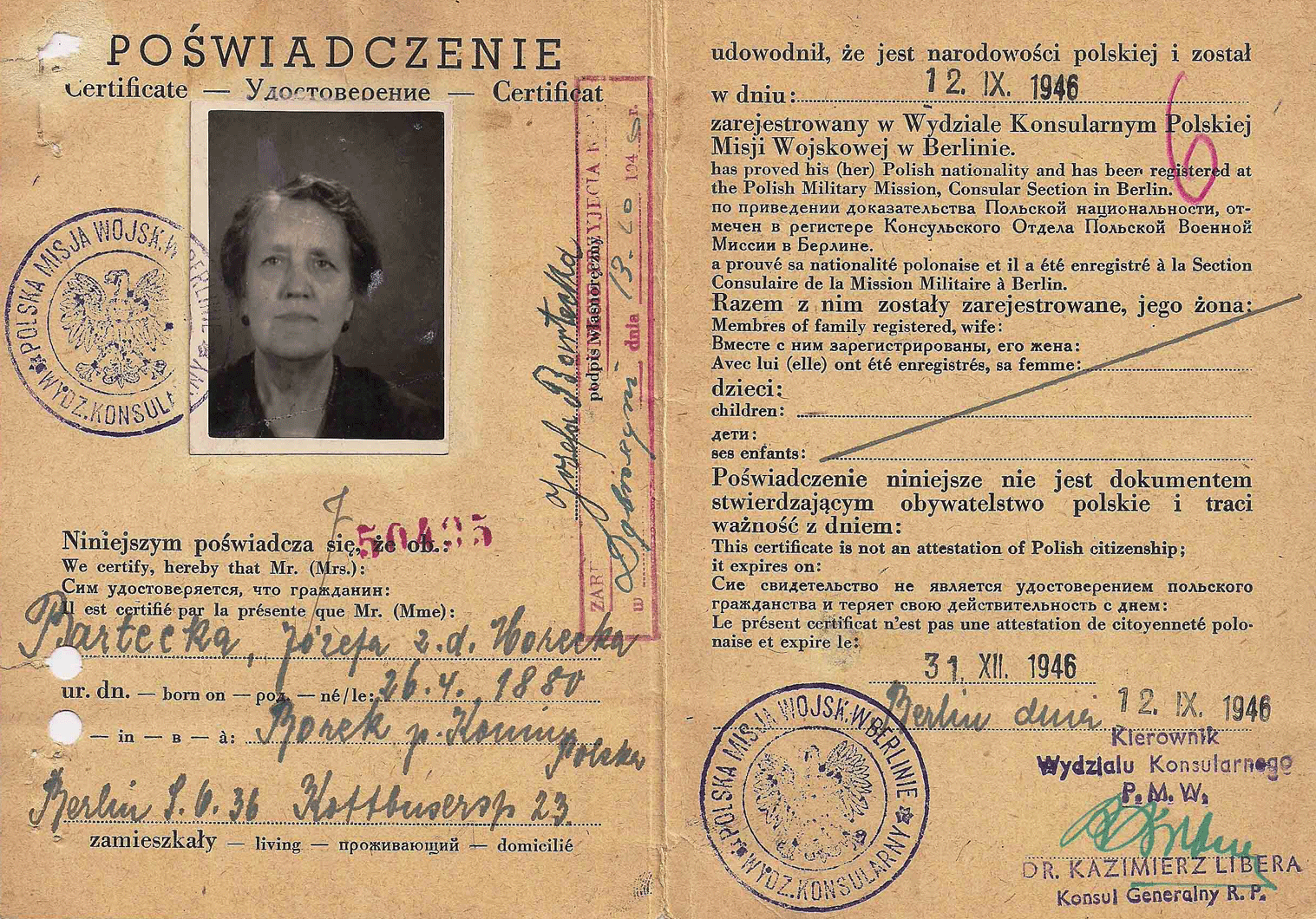 Polish Military Mission to the Allied Control Council in Germany