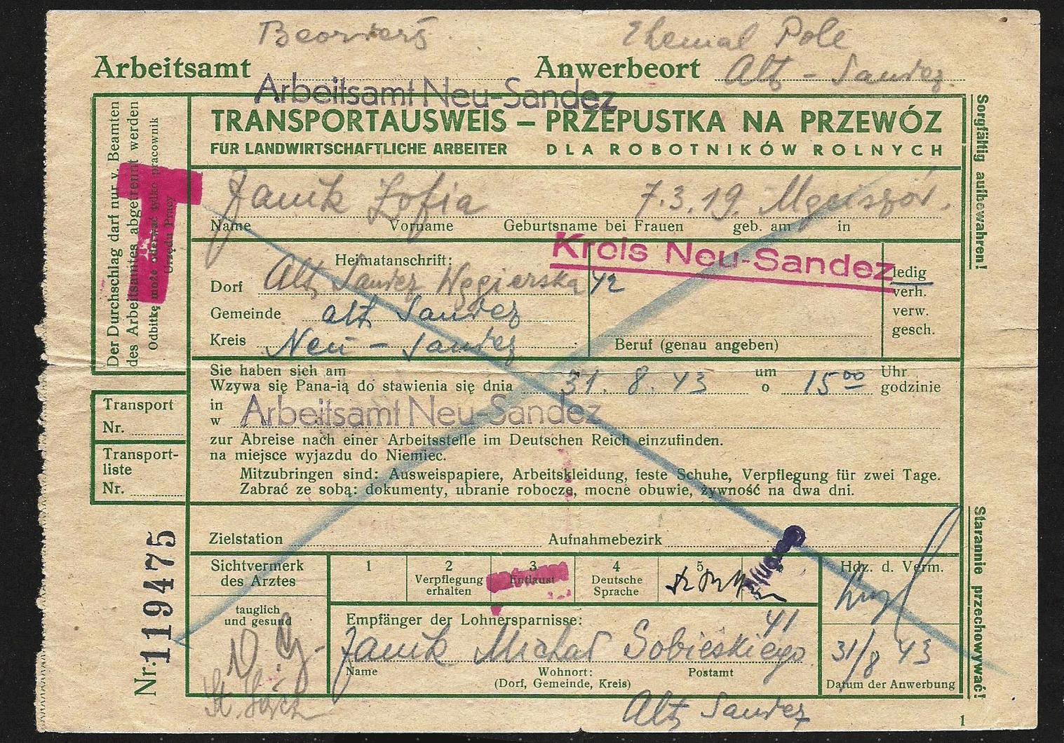 WW2 Ausweis