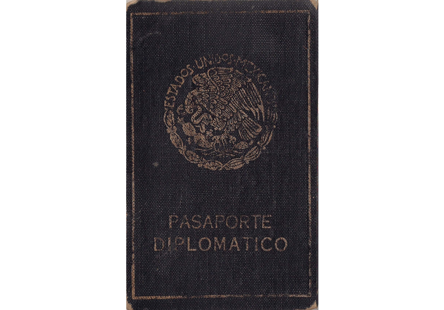Interesting Mexican diplomatic passport