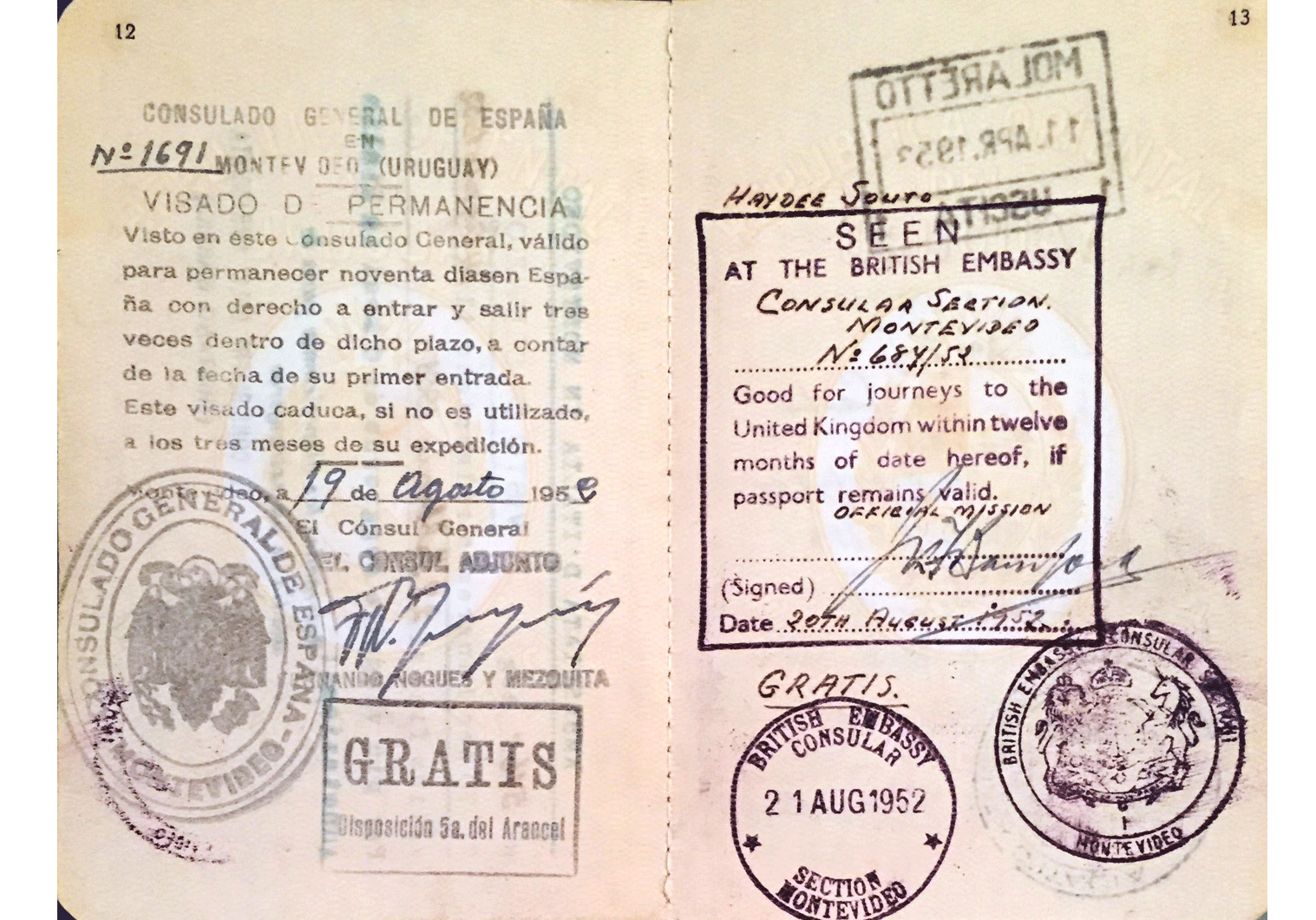 category passport page
