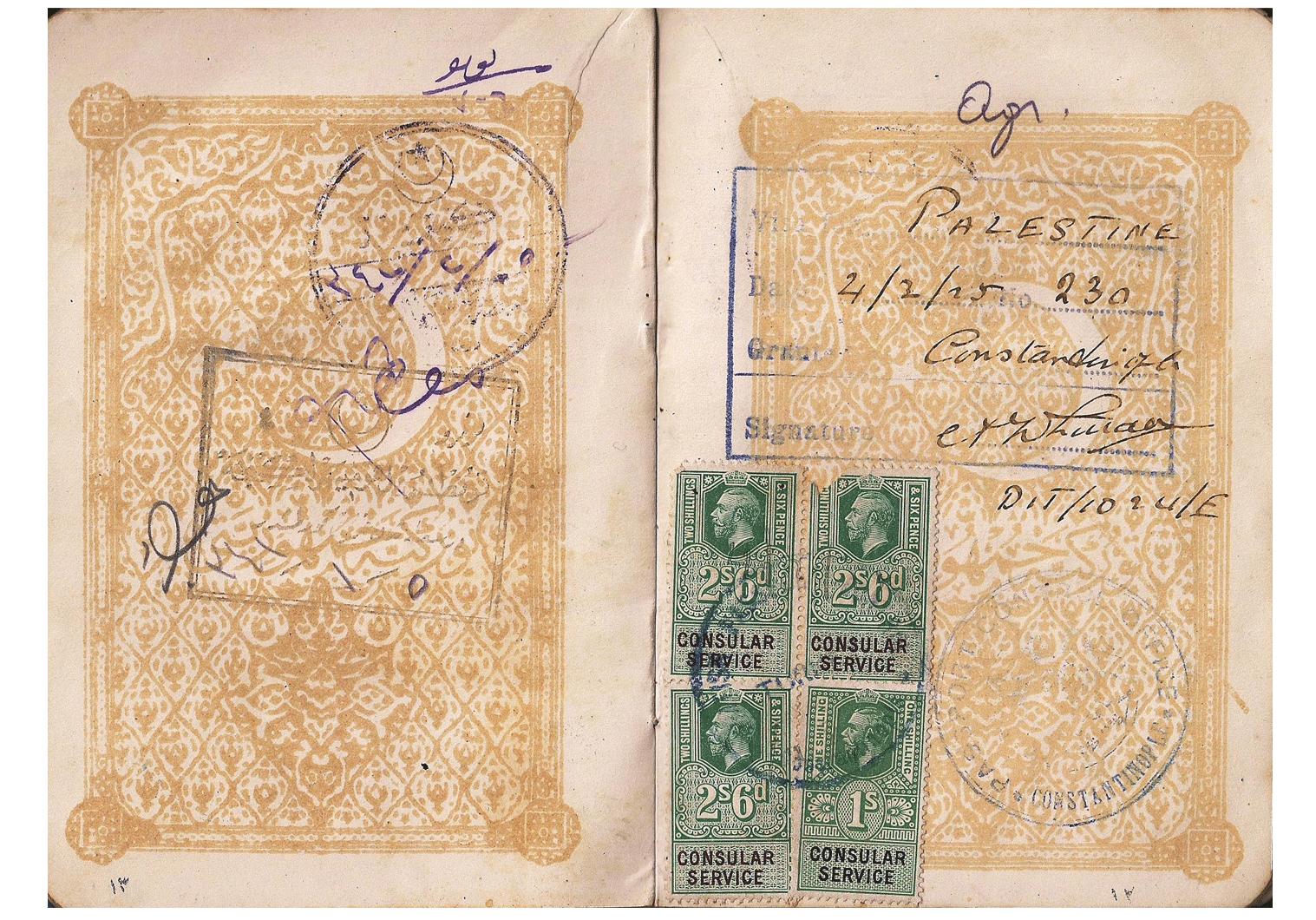 Arthur Whittall visa.