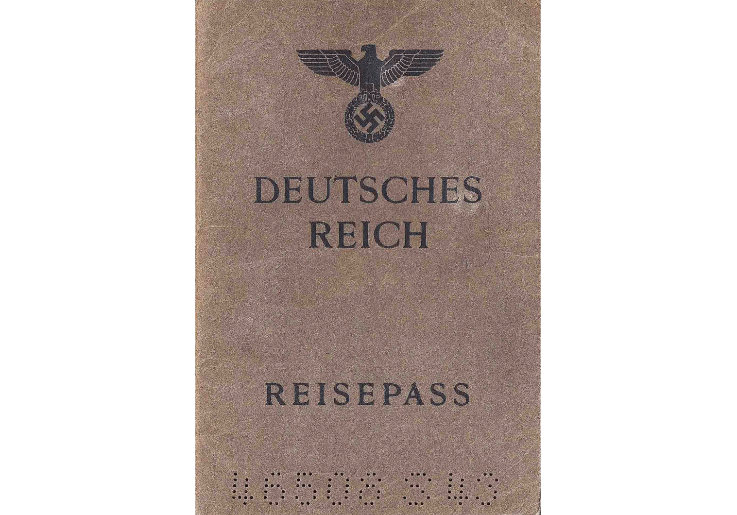 1945 German passport
