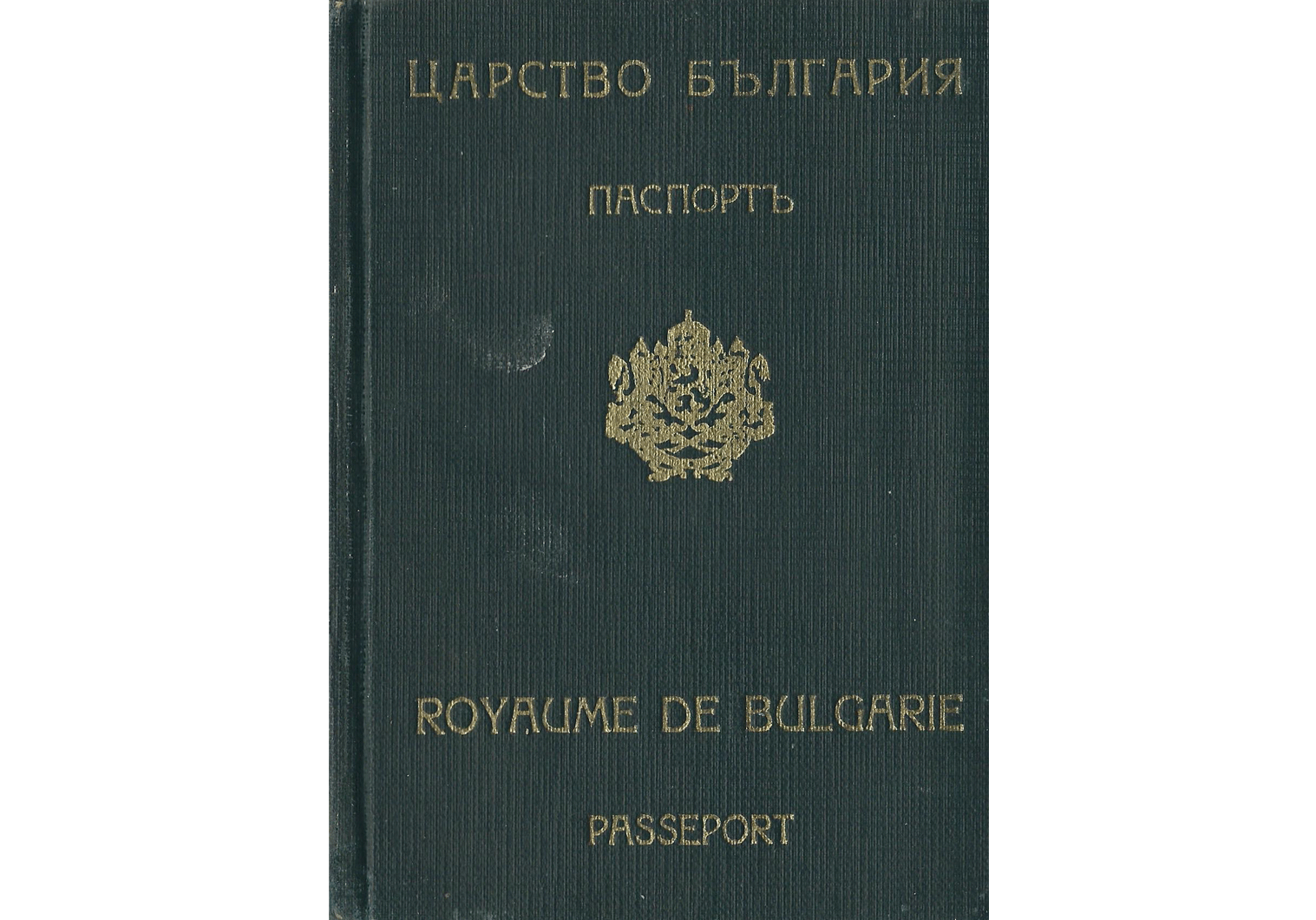 1945 women's international conference passport