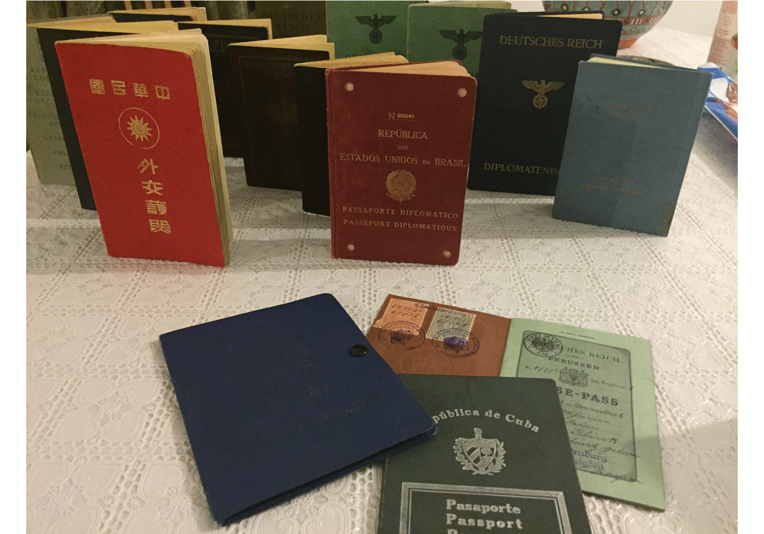 photos of old passports