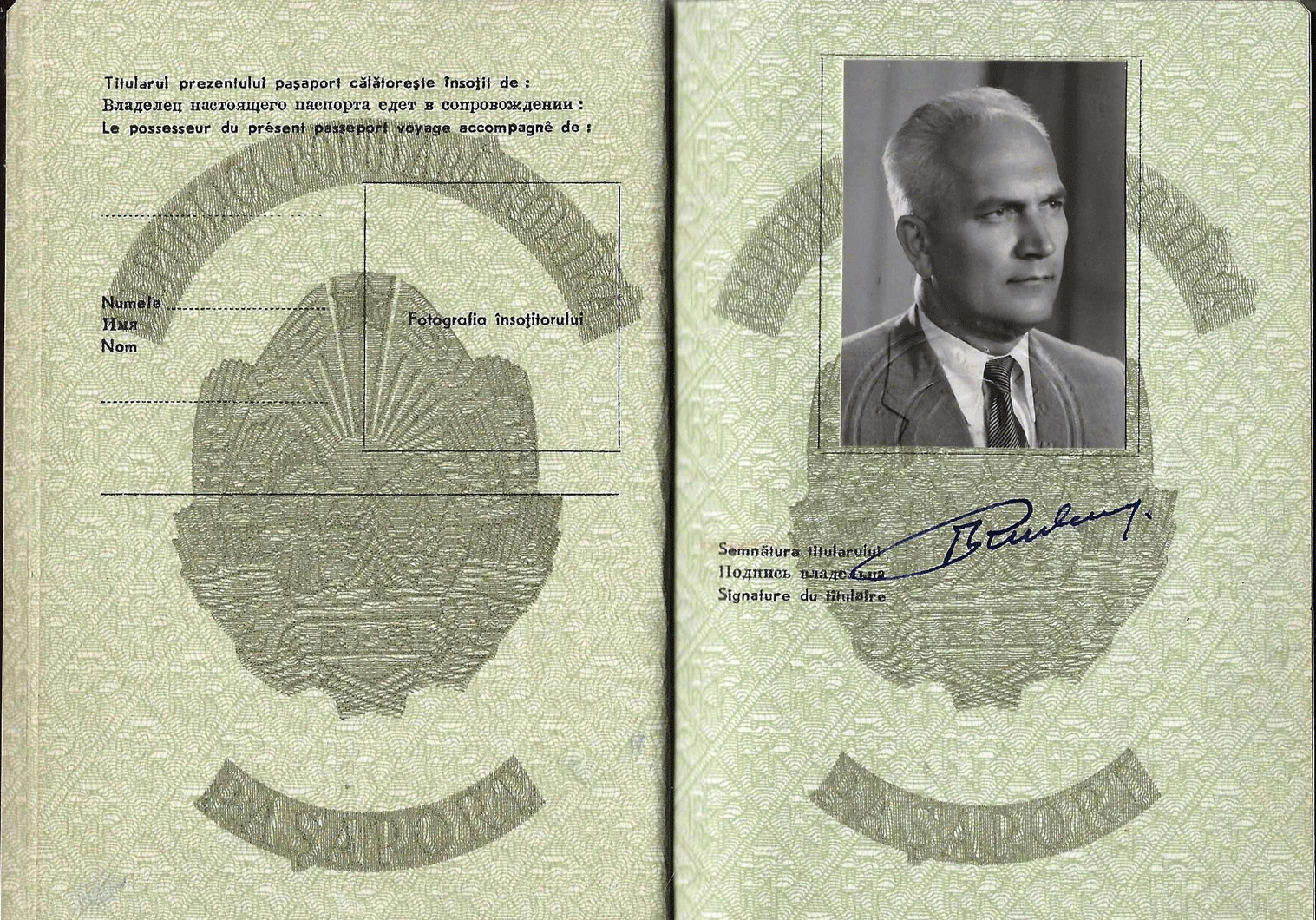 ambassador Rudenco Teodor
