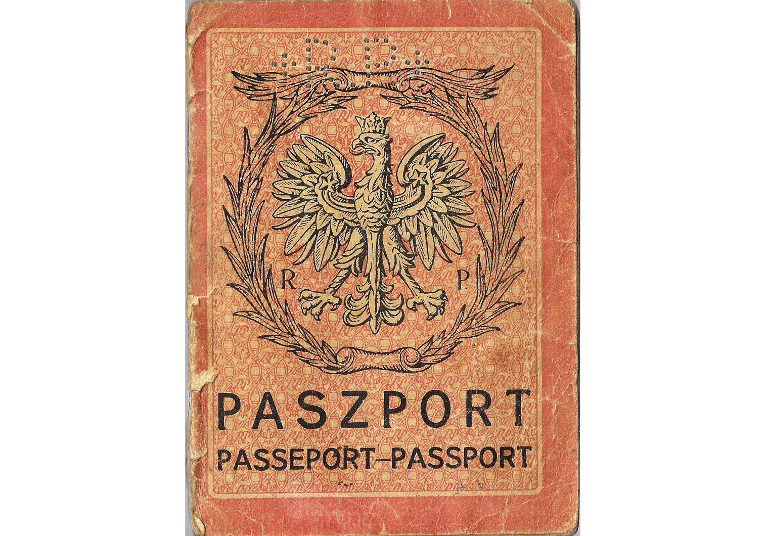 Consular official passport