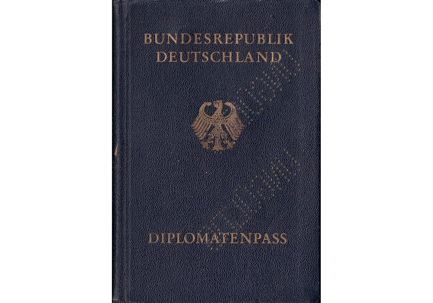 German Diplomatic passport