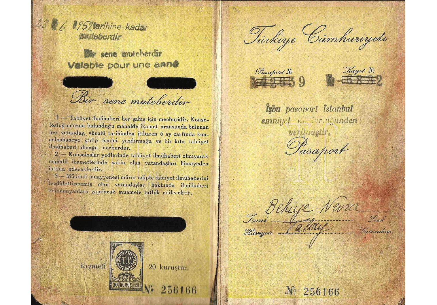 document number passport germany