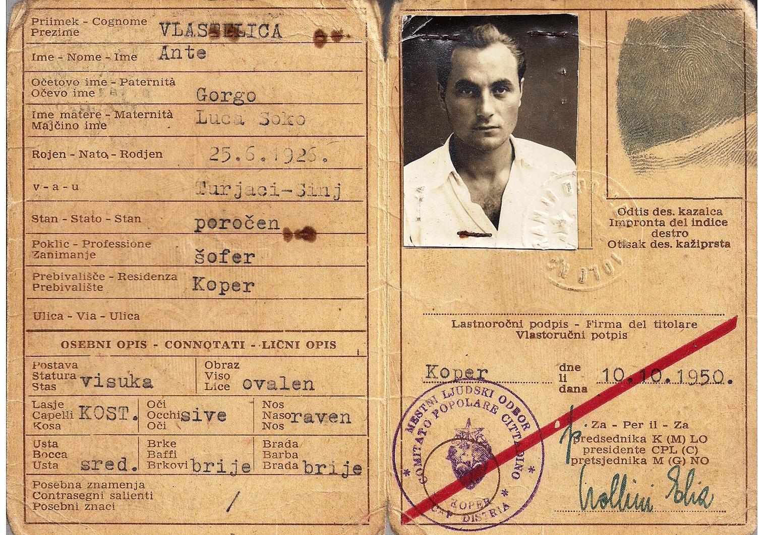 Free Territory of Trieste ID