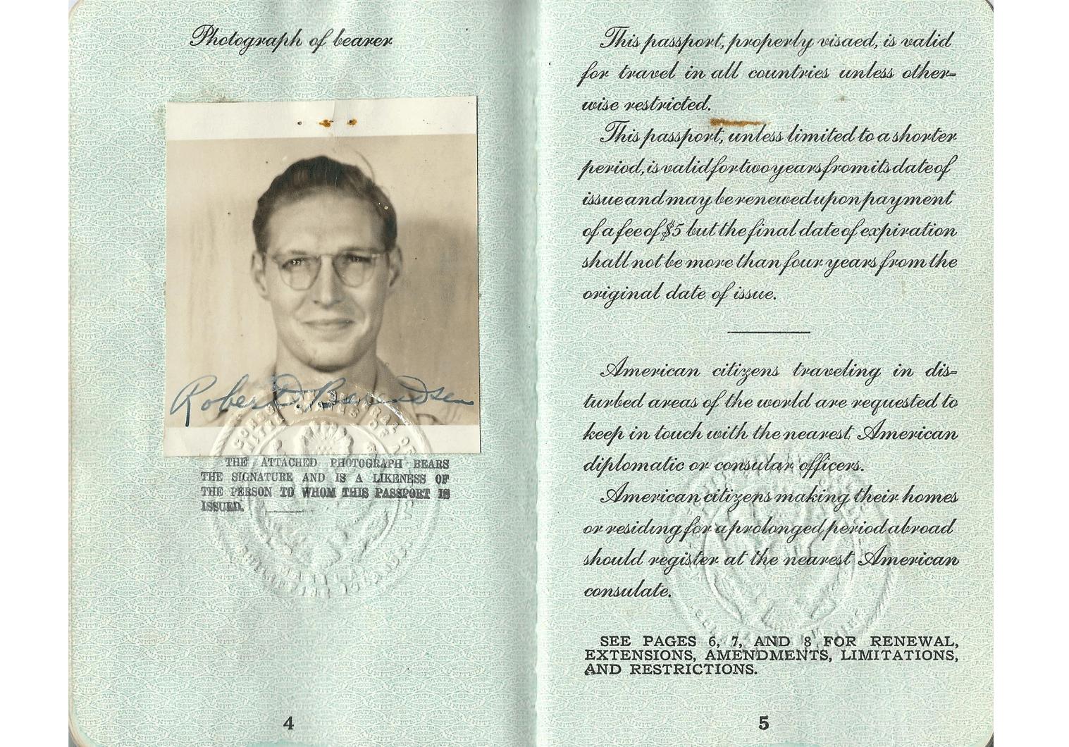 UNRRA official in Mukden
