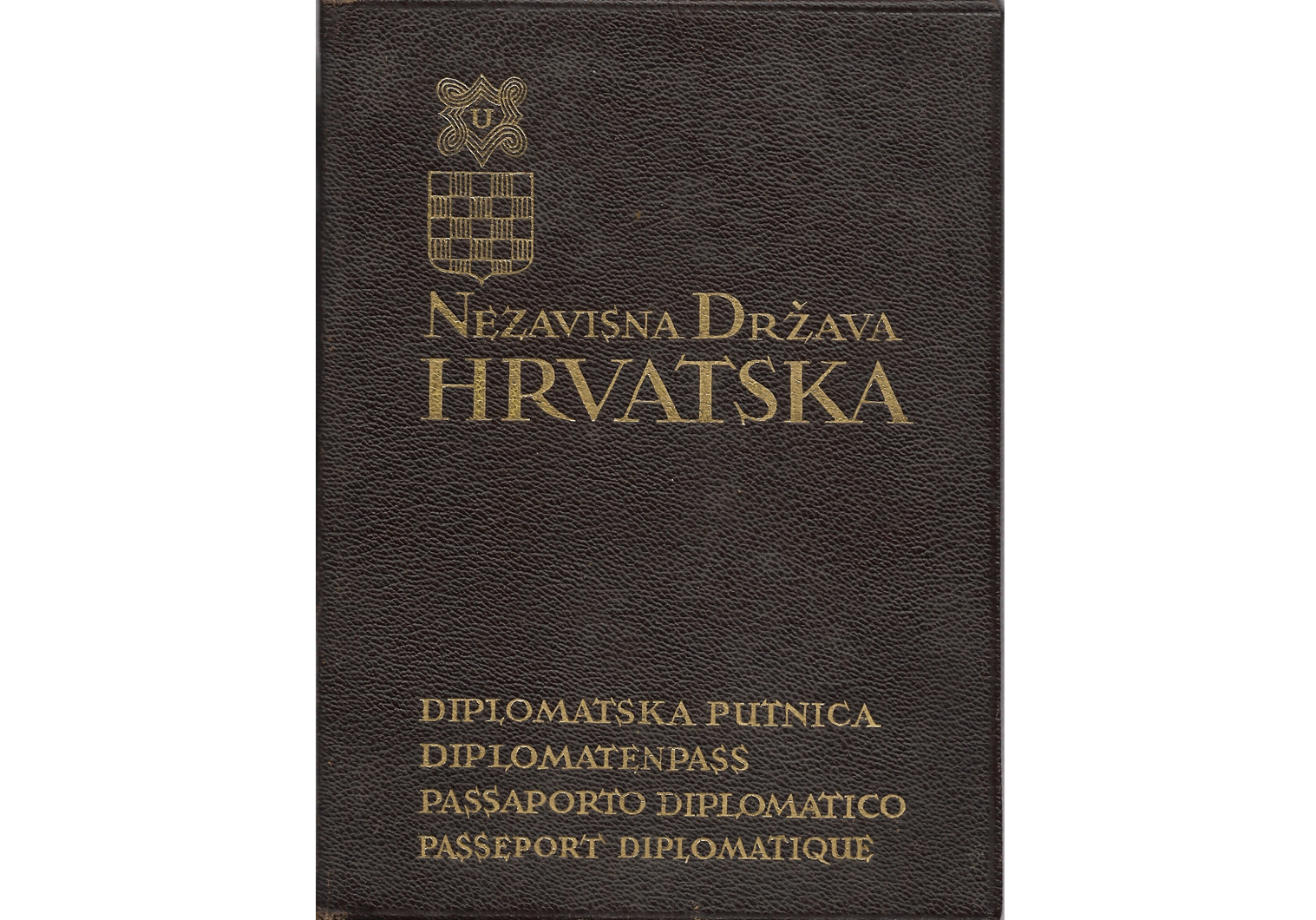 Croatian Foreign Minister's Diplomatic passport